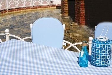 Soley Bahçe Masa Seti Mavi
